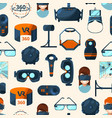 pattern or background with vector image vector image