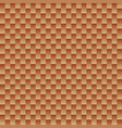 seamless shiny copper color squar background vector image vector image