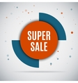 Special offer sale tag discount isolated on gray vector image vector image
