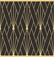 abstract art deco seamless pattern 03 vector image vector image