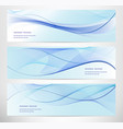 abstract blue backgrouds vector image vector image
