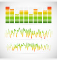 eq equalizer graphics vector image vector image
