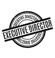 Executive Director rubber stamp vector image vector image