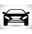 Black car icon Transportation design vector image