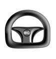car steering wheel vector image vector image