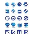 Company logo icon set vector image vector image