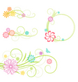 Floral design elemen vector | Price: 1 Credit (USD $1)