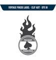 Poker design element vector image vector image