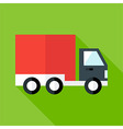 Shipping and free delivery flat vector image