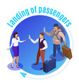 travel people round background vector image vector image