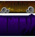 Abstract background with a urban landscape EPS10 vector image
