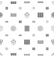 crate icons pattern seamless white background vector image vector image