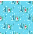 Endless pattern Christmas theme seamless vector image vector image