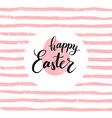 Happy Easter lettering