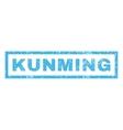 Kunming Rubber Stamp vector image vector image