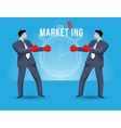 Market ring business concept vector image vector image