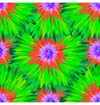 Seamless bright colors tropical floral pattern vector image