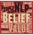 Believe You Can text background wordcloud concept vector image vector image