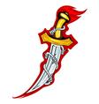 dagger icon vector image