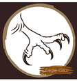 Eagle claw 1 vector image vector image