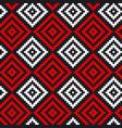 folk hand drawn seamless pattern vector image vector image