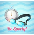 Healthy lifestyle background vector image vector image