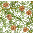 pine pattern vector image