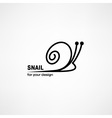 Snail icon vector image vector image