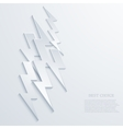 modern lightning background vector image