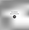 Blurred abstract gradient background silver gray vector image vector image
