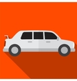 Limo flat icon vector image vector image