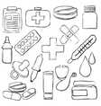 pharmacy sketch images vector image