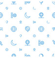 sphere icons pattern seamless white background vector image vector image