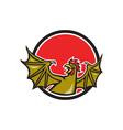 Basilisk Bat Wing Cartoon vector image vector image