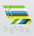 Curved strips - design template vector | Price: 1 Credit (USD $1)