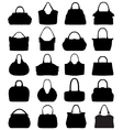 handbags 3 vector image
