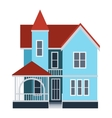 House front view vector image