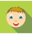 Joy icon flat style vector image