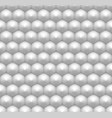minimalist white hexagon seamless pattern vector image