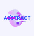 space for text minimal geometric web banner design vector image vector image