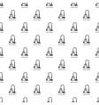 vacuum cleaner pattern seamless vector image