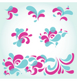 water design elements vector image vector image