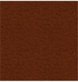brown leather pattern seamless relief vector image vector image