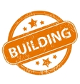 Building grunge icon vector image vector image