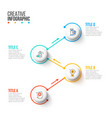 business data visualization abstract flat vector image