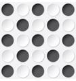 circles texture vector image vector image