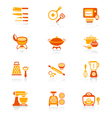 Cooking set - JUICY series vector image vector image