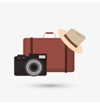 Icon of vacations design vector image vector image