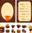 Menu for cafe vector | Price: 1 Credit (USD $1)