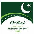 pakistan resolution day design